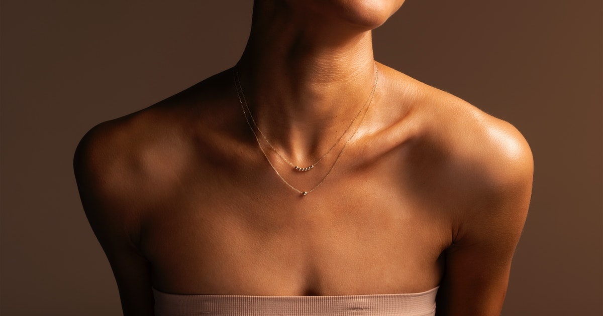 Mejuri's More Skin, More Gold Collection Makes Layered Jewelry Look So Chic