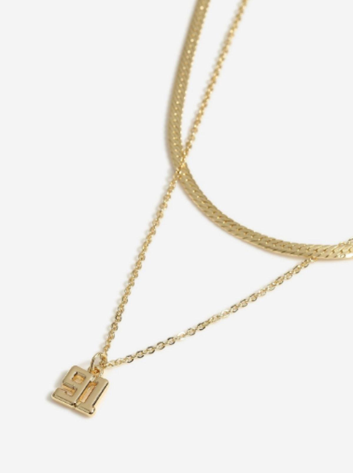 91 Multirow Necklace