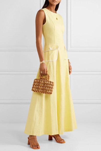 Bait Linen-Blend Maxi Dress