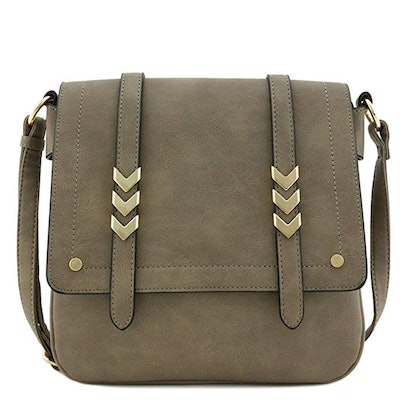 Alyssa Double Compartment Crossbody Bag