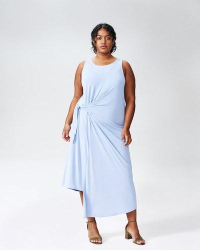KATHERINE SIDE TIE KNOT DRESS