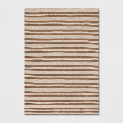 Threshold™ - Stripe Woven Rug Natural 7'x10'