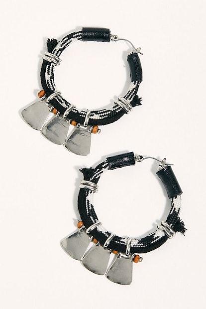 Bayberry Hoop Earrings