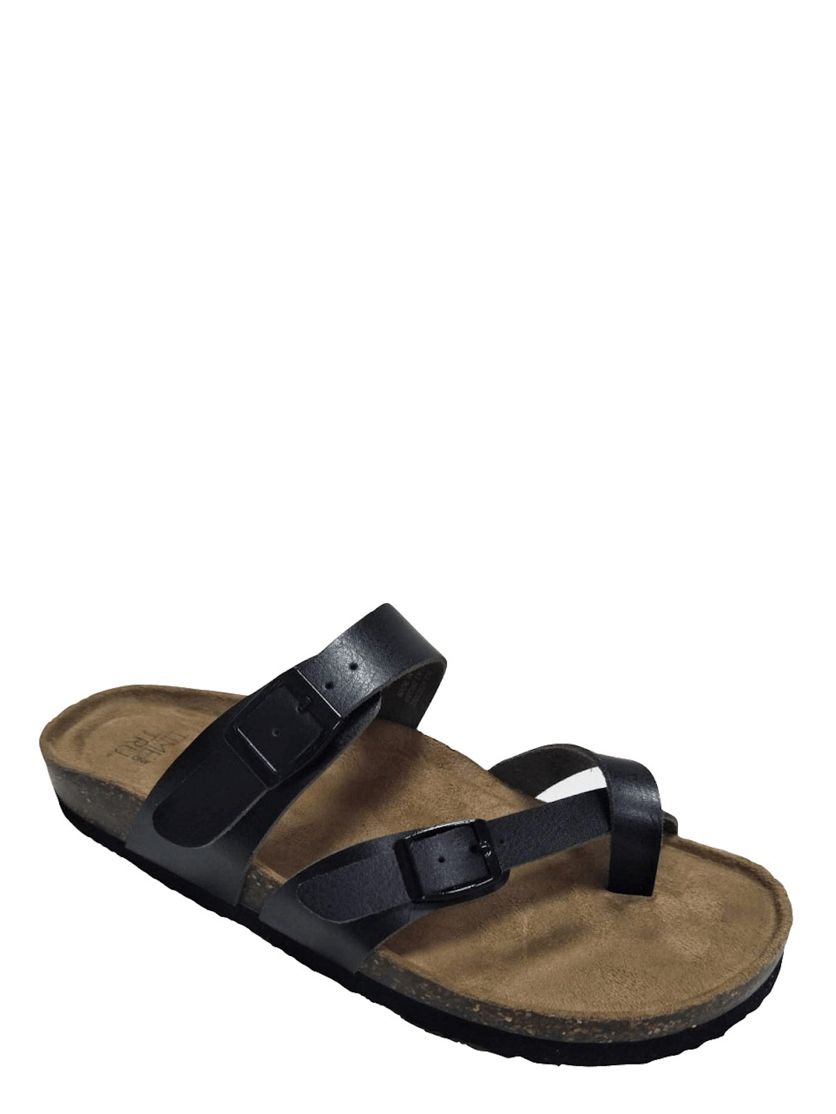 Time and Tru  Women Time And Tru Footbed Slide