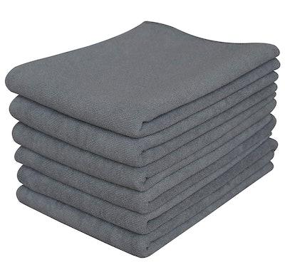 Gryeer Microfiber Kitchen Towels (6-Pack)