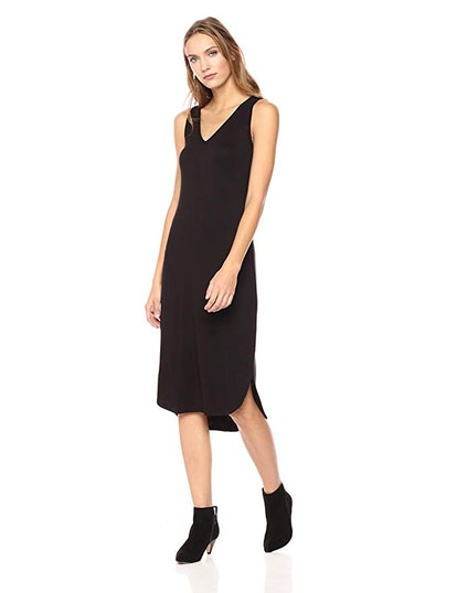 Daily Ritual Women's Jersey Sleeveless V-Neck Dress