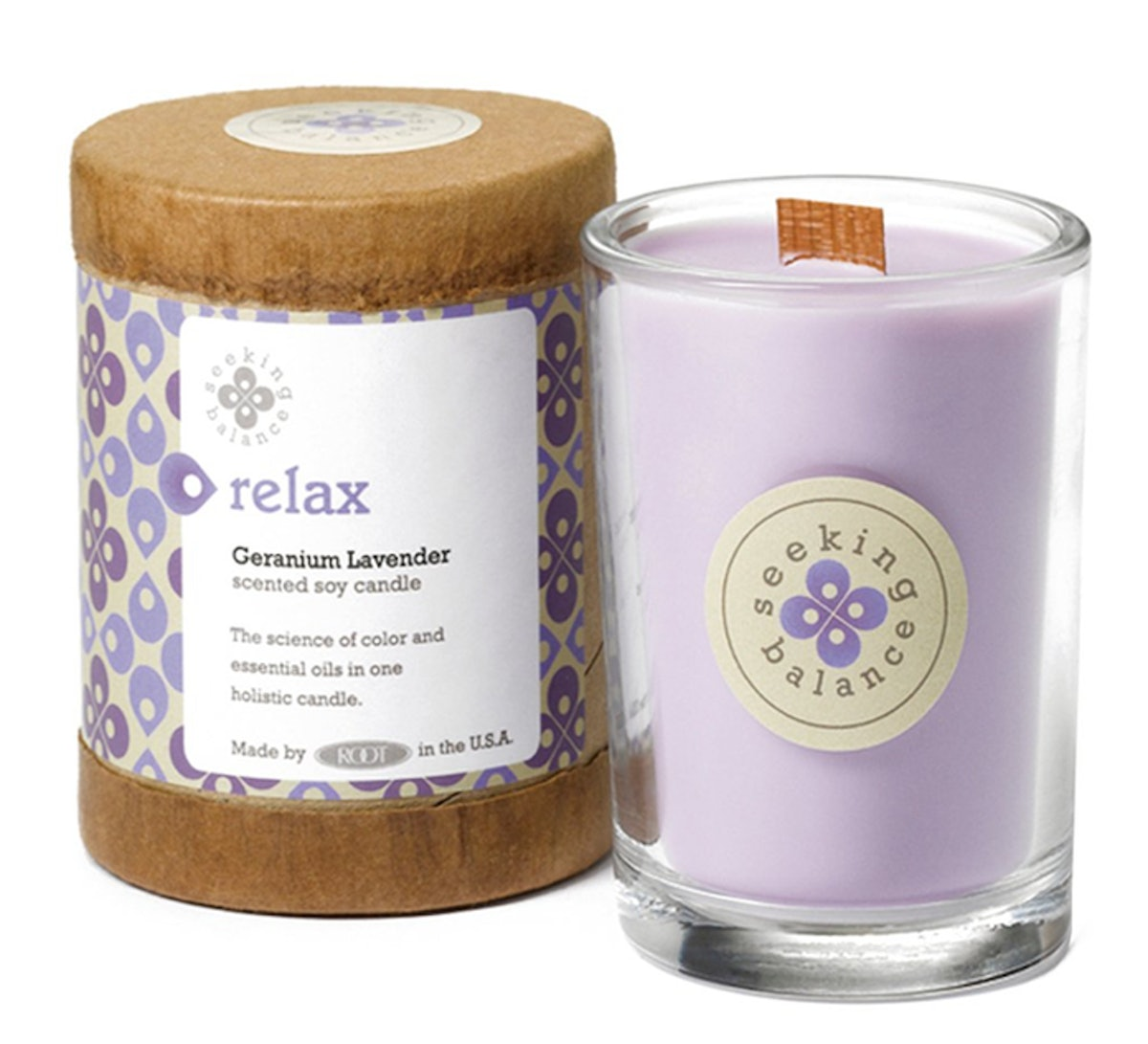 Root Candles Spa Candle