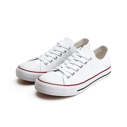 ZGR Women's Canvas Low Top Sneakers