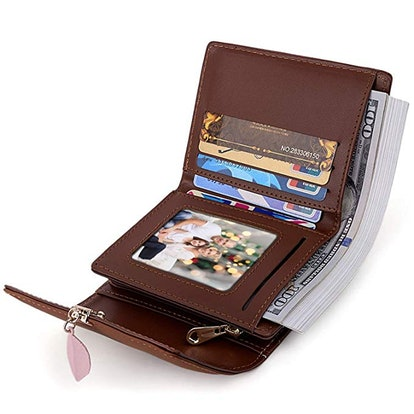 UTO Small PU Leather Wallet for Women
