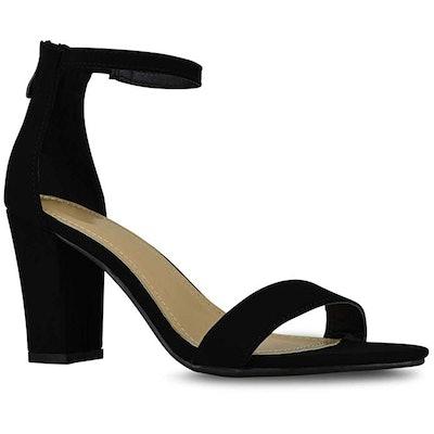 Premier Standard Women's Strappy Chunky Block High Heel