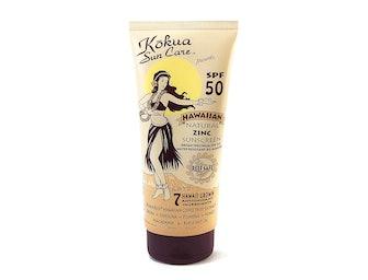 KOKUA SUN CARE Spf50 Hawaiian Natural Zinc Sunscreen