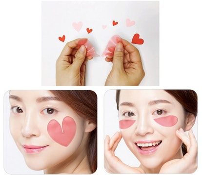 Pink Racoony Hydrogel Eye and Cheek Patches (60 Sheets)