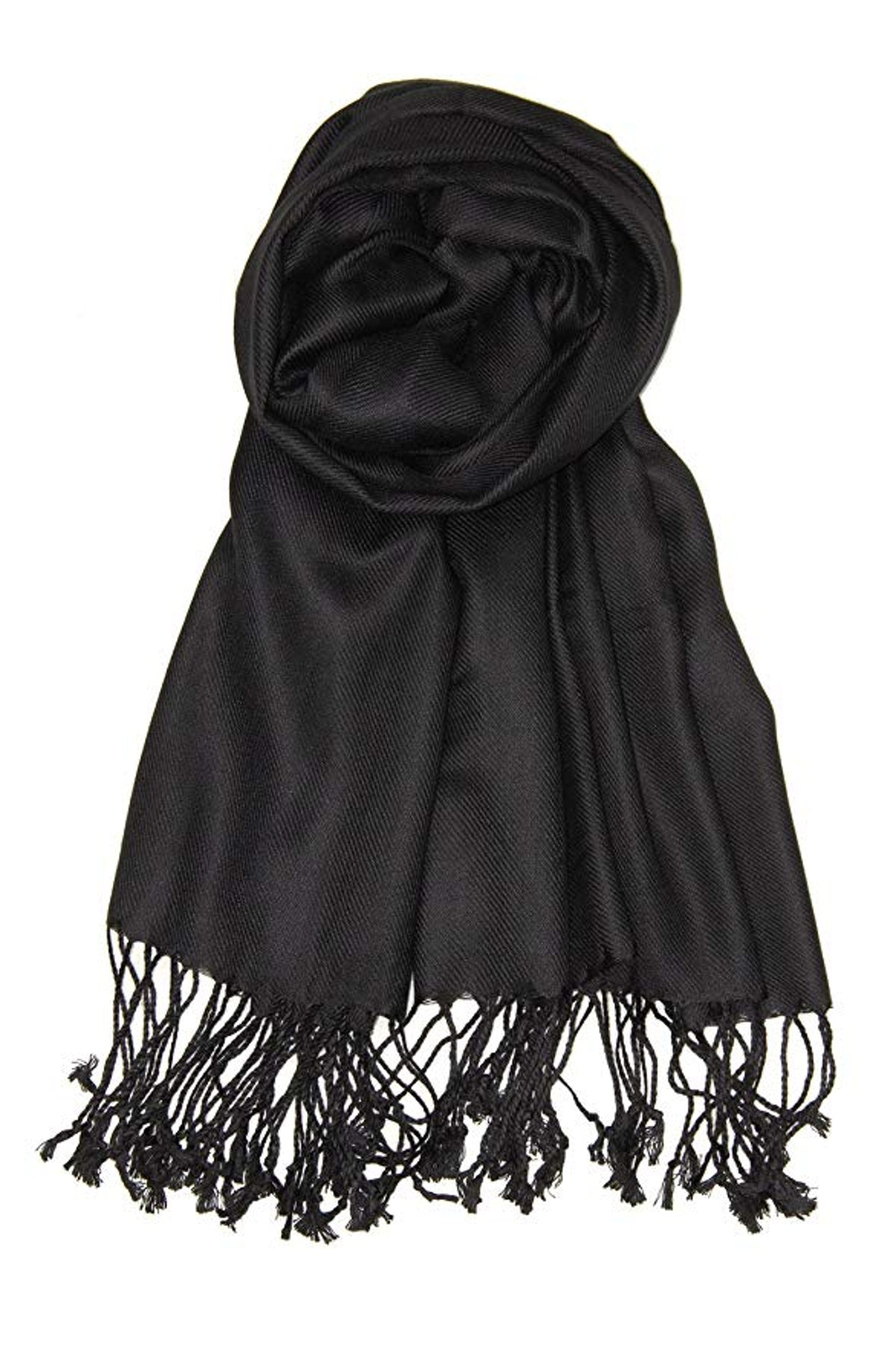 Achillea Large Soft Silky Pashmina Shawl Wrap Scarf