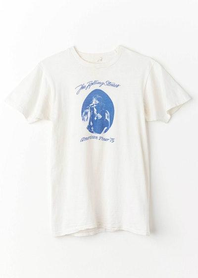 Vintage 1975 Rolling Stones American Tour T-Shirt