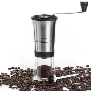 Coffmax Manual Ceramic Burr Coffee Grinder