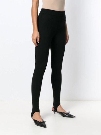 Skinny-Fit Stirrup Leggings