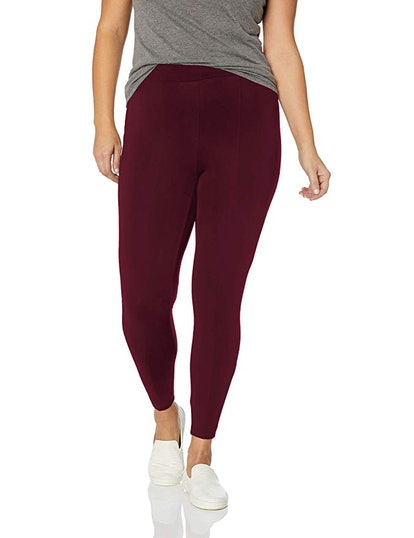 Daily Ritual Women's Plus Size Faux 5-Pocket Ponte Knit Legging