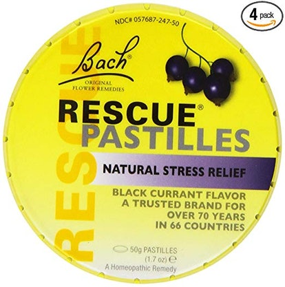 Bach Rescue Remedy Pastilles (4 Pack)