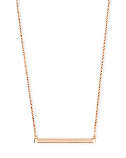 Kelsey Pendant Necklace in rose gold