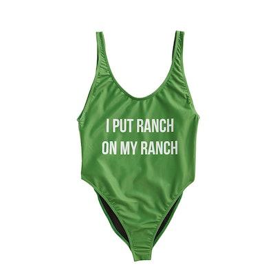 Hidden Valley Ranch Women's One Piece Swimsuit