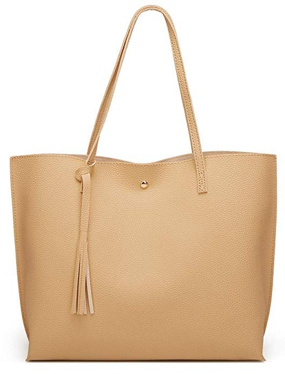 Dreubea Women's Soft Leather Tote