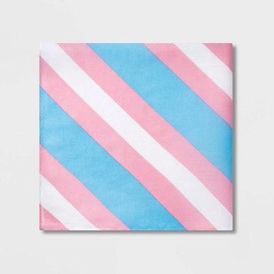 Pride Striped Transgender Flag Bandana - One Size