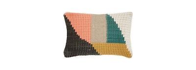 Mina Victory - Life Styles Woven Geometric Lumbar Throw Pillow