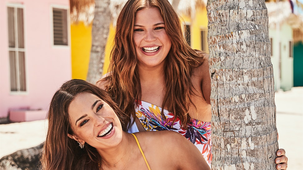 285b894ee4 Ashley Graham's 2019 Swimsuit For All Collection Includes One Shoulder Tops  & A SICK Monokini