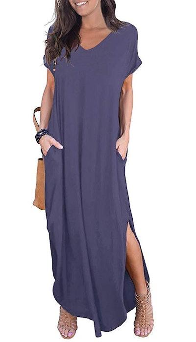 GRECERELLE Women's Casual Maxi Dresses (XS-XXL)