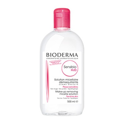 Bioderma Sensibio H2O Micellar Cleansing Water and Makeup Remover Solution for Face and Eyes