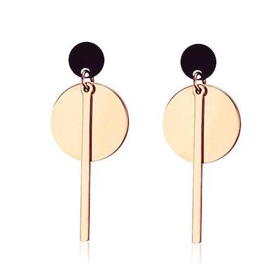 ANDANTINO Stainless Steel Tassel Earrings