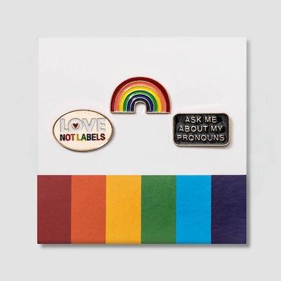 Pride Rainbow Pins