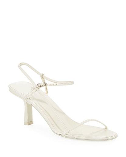 Bare Asymmetric Leather Sandals