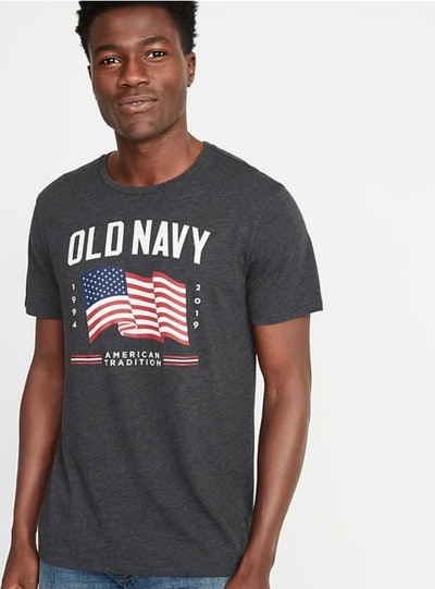 2019 Flag Graphic Tee for Men