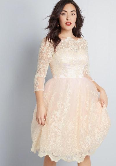 Gilded Grace Dress