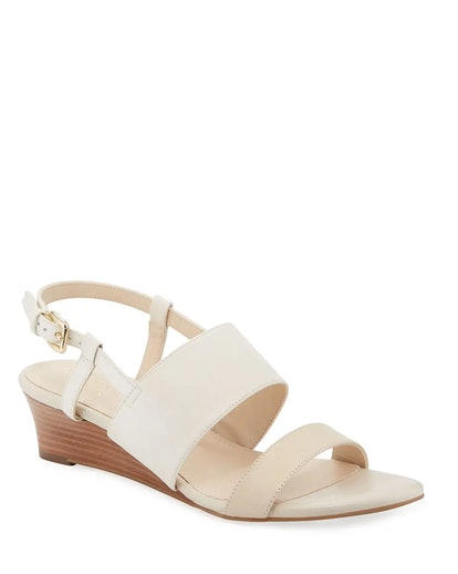 Annabel Grand Leather Wedge Sandals
