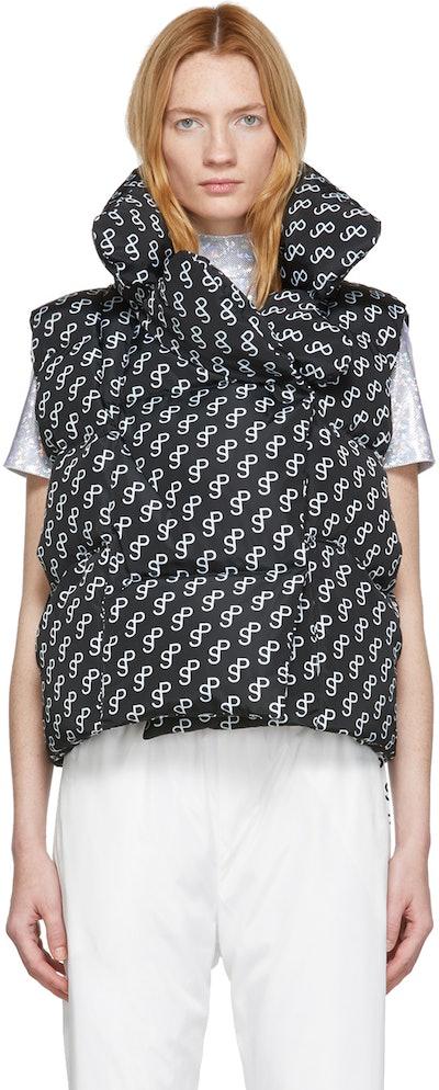 Black Moon Logo Vest