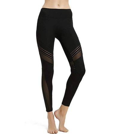 MCEDAR Mesh Panel Leggings