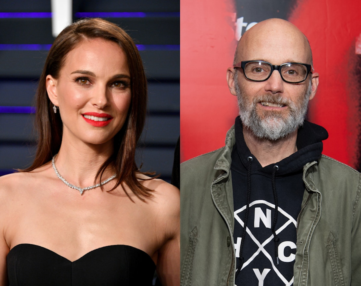 Natalie Portman & Moby's Conflicting Dating Comments Sparked A Bigger Conversation About Power Dynamics