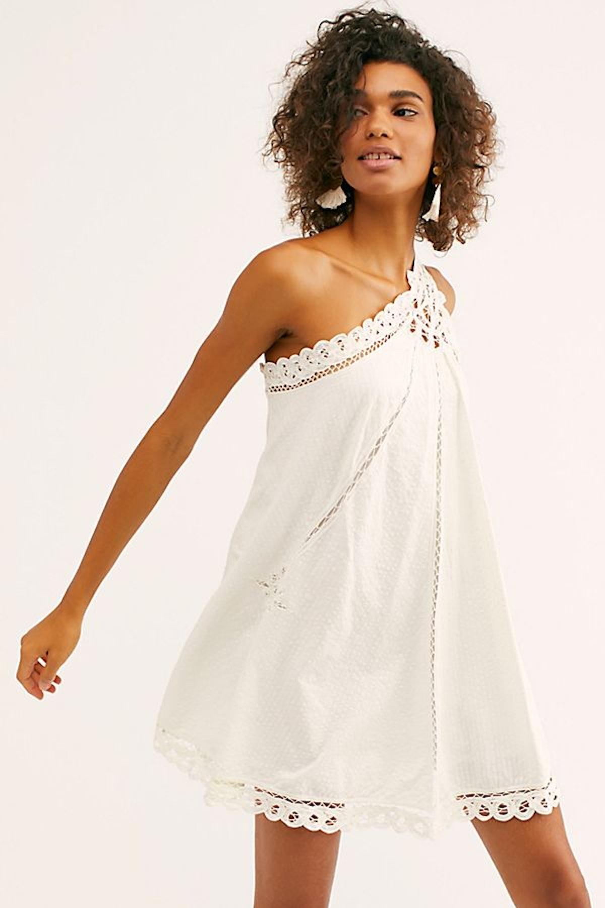 Billie Battenburg One-Shoulder Dress
