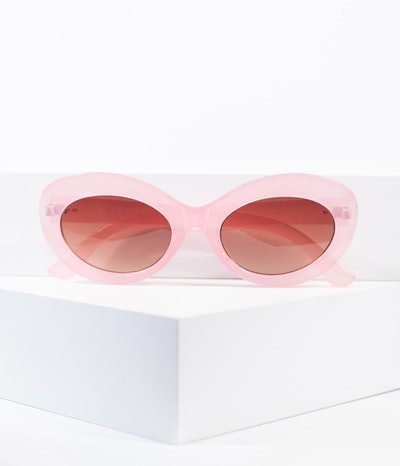 Crystal Pink Lava Sunglasses