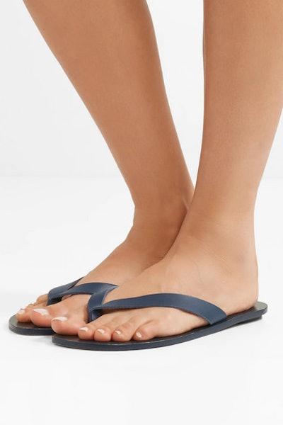 Bryan Leather Flip Flops