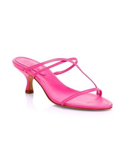 Evenise Strappy Kitten Heel Sandals