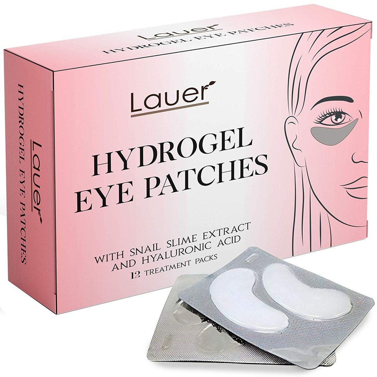 Lauer Cosmetics Hydrogel Eye Patches
