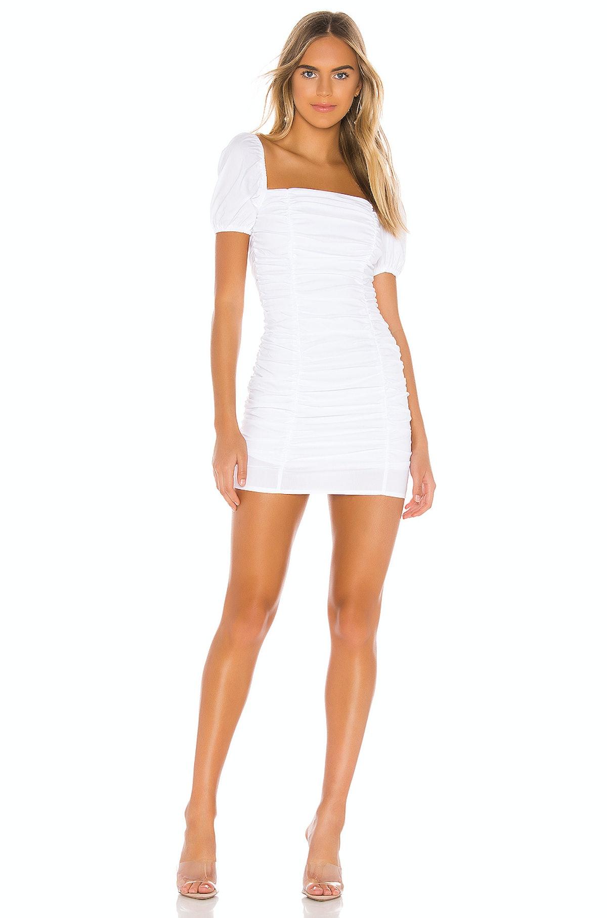 Superdown Rumor Ruched Dress