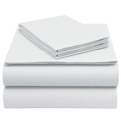 EnvioHome GOTS-Certified Organic Cotton Queen Sheet Set - 4 Pc