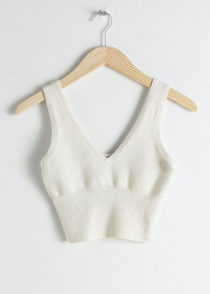 Organic Cotton Blend Tank Top