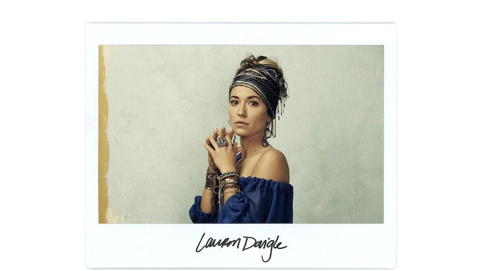 Grammy Award Winning Singer Lauren Daigle Takes On The Bustle Booth