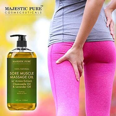 Majestic Pure Sore Muscle Massage Oil