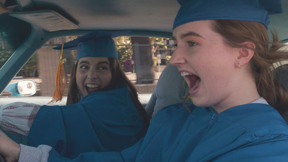 "How 'Booksmart' Overcomes The Sexist Legacy Of The ""High School Party Movie"""